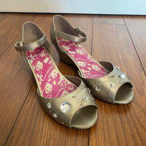 Hannah Montana Silver Studded Heeled Sandals